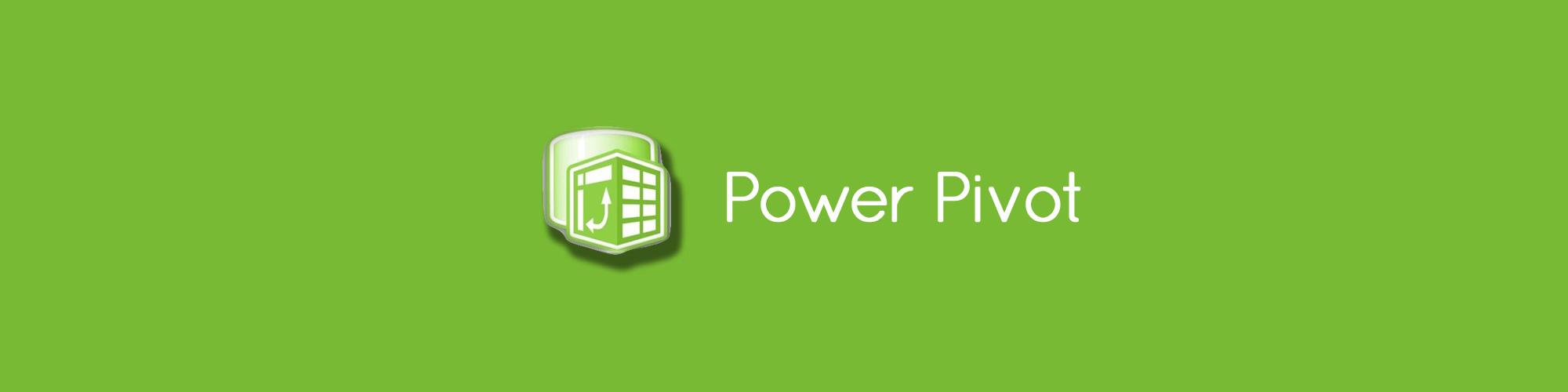 Power Pivot and Pivot Tables
